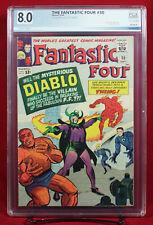 FANTASTIC FOUR #30 (Marvel 1964) PGX 8.0 VF Very Fine - FIRST DIABLO!!! +CGC!!!