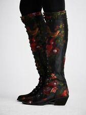 Jeffrey Campbell Floral Joe Tall Boots-6-$298 MSRP