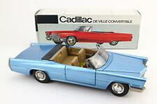 SCHUCO 5505 Elektro Cadillac De Ville blau OVP 60's vintage toy car boxed A177