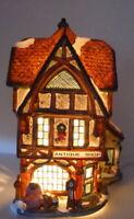 Grandeur Noel Victorian Village Antique Shop Christmas 1999 Vintage Replacement