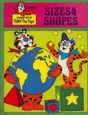Tony the Tiger coloring book RARE UNUSED #2