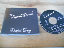 CD Pop Duran Duran - Perfect Day (1 Song) Promo PARLOPHONE EMI sc