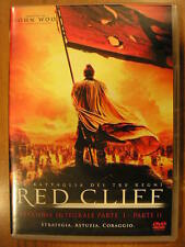 RED CLIFF la battaglia dei tre regni John Woo DVD VERSIONE INTEGRALE PARTE I II