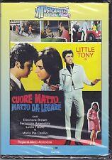 Dvd **CUORE MATTO MATTO DA LEGARE** con Little Tony nuovo 1967