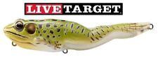 Live Target Frog Topwater Walking FGW118T500 Green Yellow 7/8oz Fishing Lure