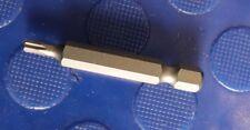"""T15 Tx pedacito de destornillador Torx 50 mm Cromo vanadio 1/4"""" hexagonal Suelto"""
