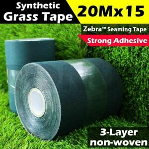 20m x 15cm Synthetic Grass Joining Tape Self Adhesive Glue Peel Artificial Turf
