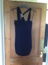 Black River Island Dress Size 12 With Sequins On The Straps 💃🏾
