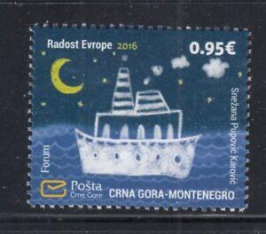 MONTENEGRO Joy of Europe 2016 MNH stamp