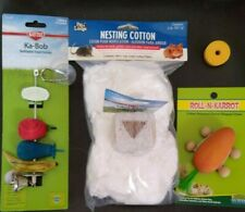 Hamster, Rat, Mouse Pack of Bedding, Salt, Lava Block, Carrot Toy, Kabob