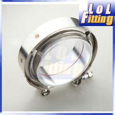 "3"" Clamp Aluminum Flange V-Band Vband Turbo Intercooler Piping Kit"