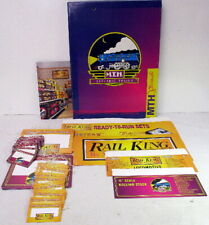 MTH Dealer~Point-Of-Purchase Signs,Hangers,Shelf-Talkers~1990s~Rail King~