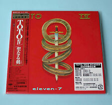 TOTO Toto IV JAPAN mini lp cd DSD Mastering brand new & still sealed