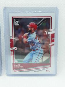 Matt Carpenter 2020 Panini Optic Baseball - #186 - St. Louis Cardinals