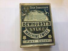 """DEWHURST'S """"SYLKO"""" MACHINE TWIST  BOX ONLY"""