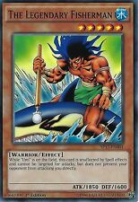YU-GI-OH CARD: THE LEGENDARY FISHERMAN - SP17-EN001 - 1st EDITION