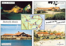Butterfly Hotels Multiview - Advertising Postcard - Unposted 1993