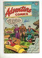 Adventure Comics #205 AQUAMAN, GREEN ARROW & SUPERBOY! DC 1954 VG/VG- 4.0/3.5