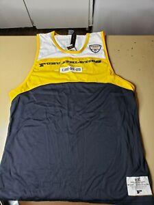Mens XL Fubu Sports Collection Athletics Vest 1992s Hip Hop Rap Damon 05