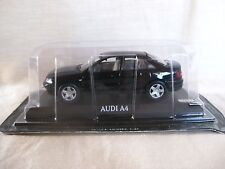 AUDI A4 Black 1:43 Die cast model 20th CENTURY GREAT CARS COLLECTION