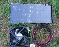 Hipower Low Pro Solar Ventilation Kit, 4 W, 12 cm ventilateur, bateau, caravane, hangar etc