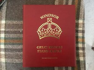 SG Windsor Great Britain  Album Volume IV complete with FDI stamps