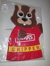 HERR'S POTATO CHIP COMPANY CHIPPER CHIPMUNK MASCOT  CLOTH PUPPET PENNSYLVANIA