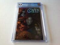 COVEN V2 1 CGC 9.8 DYNAMIC FORCES HOLOFOIL VARIANT HIGHEST AWESOME COMICS