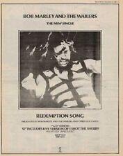 Bob Marley '45 advert 1980 OBLIQUE