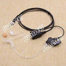For Uniden Acoustic Tube Headset Earpiece Vhf Radio Mhs-135 Mhs-350 Atlantis 200