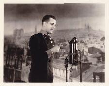 RAMON NOVARRO Original CANDID Studio Set Prop Vintage 1931 DAYBREAK MGM Photo