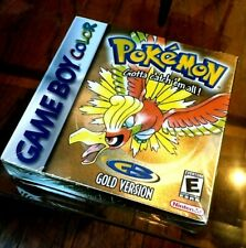 Pokemon: Gold Version (Game Boy Color, 2000) Brand New *SEALED* NEW ad