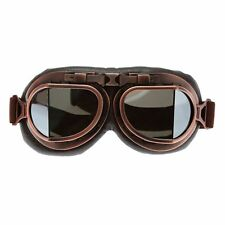 Motorcycle Steampunk Copper Glasses Flying Retro Goggles Vintage Pilot Biker