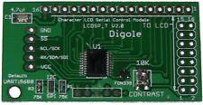 Serial:UART/I2C/SPI Adapter for 1602/1604/2002/2004/4002 LCD in Arduino/AVR/PIC