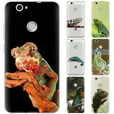 Dessana Chameleon Iguana Silicone Protection Cover Case Phone For Huawei