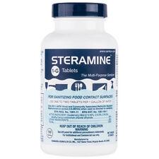 Edwards-Councilor S150E48 Steramine Sanitizer Tablets (Sanitabs)150 Count Bottle