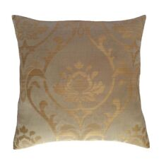 "Linen Lotus Pattern 18""x18"" Lilac Decorative/Throw Pillow Case/Cushion Cover"