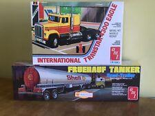 AMT 1/25 International Transtar 4300 Eagle and AMT 1/25 Tanker Trailer Sealed!
