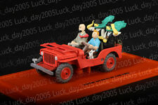TINTIN Au pays de l'or noir JEEP WILLYS 1943 1/43 Diecast Model