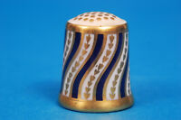 Royal Crown Derby 'The Spiral Stripe' China Thimble B/77