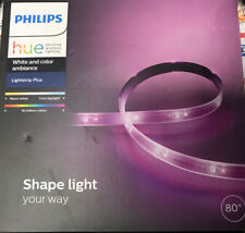 Philips Hue White & Color Ambiance LED LightStrip PLUS 80""