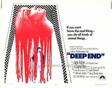 DEEP END Movie POSTER 22x28 Half Sheet Jane Asher John Moulder-Brown Diana Dors