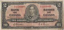 Canada 2 dollars 1937 Gordon Towers, George VI