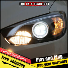 For Mazda CX-5 Headlights assembly Bi-Xenon Lens Double Beam HID KIT 2013-2016