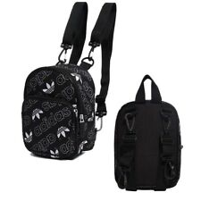 Adidas Originals Mini Classic Backpack Trefoil Logo Bag Unisex Black DV0192