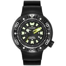 New Citizen BN0175-19E Men's Promaster Diver Quartz Stainless Steel Diving Watch