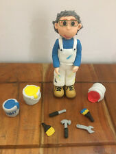 3D HANDMADE PAINTER DECORATER OR OTHER JOB CAKE TOPPER/ birthday