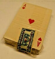 Vintage Sealed Playing Cards Charles Andrews Insurance Trenton NJ with Tax Stamp