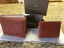 NEW IN BOX TOMMY BAHAMA 2 In 1 BI FOLD WALLET. USE AS ONE OR TWO.