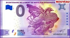 UE VQ-1 / BICENTENAIRE DE LA MORT DE NAPOLEON BONAPARTE / BILLET 0 € / 2021-1